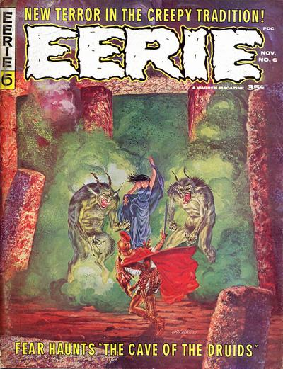 Cover for Eerie (Warren, 1966 series) #6