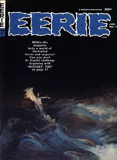 Cover for Eerie (Warren, 1966 series) #7