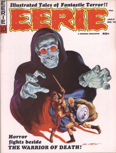 Cover for Eerie (Warren, 1966 series) #10
