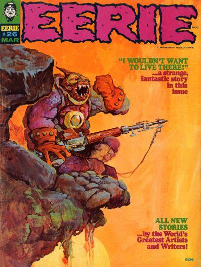 Cover for Eerie (Warren, 1966 series) #26