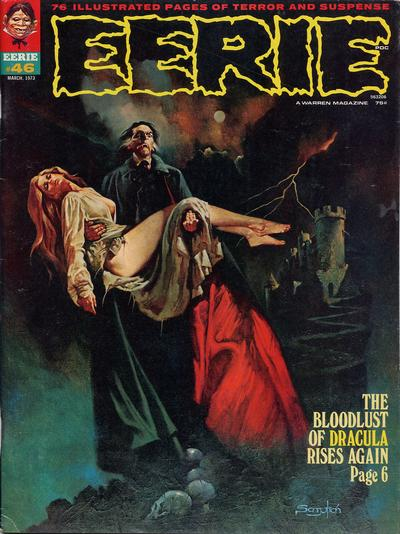 Cover for Eerie (Warren, 1966 series) #46