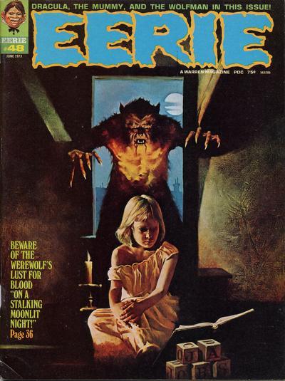 Cover for Eerie (Warren, 1966 series) #48