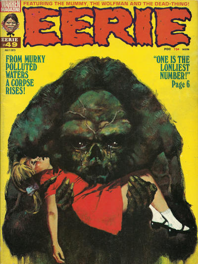 Cover for Eerie (Warren, 1966 series) #49