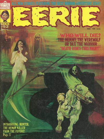 Cover for Eerie (Warren, 1966 series) #52