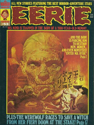 Cover for Eerie (Warren, 1966 series) #53