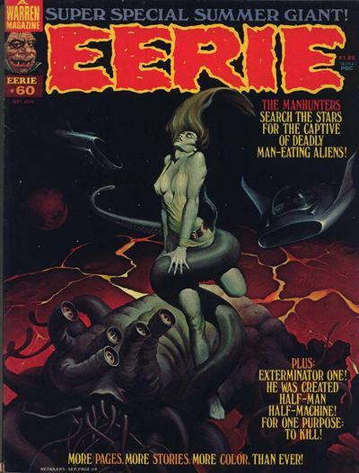 Cover for Eerie (Warren, 1966 series) #60