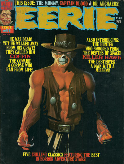 Cover for Eerie (Warren, 1966 series) #61