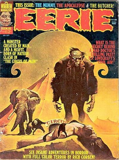 Cover for Eerie (Warren, 1966 series) #62