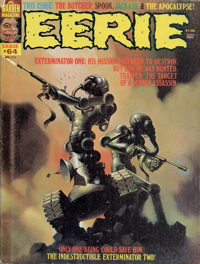 Cover for Eerie (Warren, 1966 series) #64