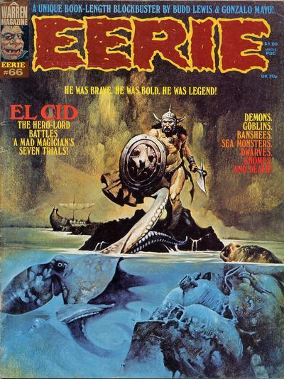 Cover for Eerie (Warren, 1966 series) #66