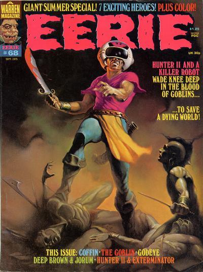 Cover for Eerie (Warren, 1966 series) #68