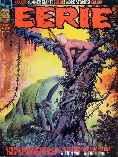 Cover for Eerie (Warren, 1966 series) #77