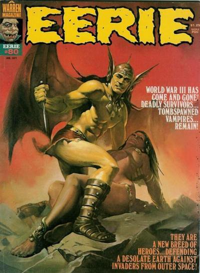 Cover for Eerie (Warren, 1966 series) #80