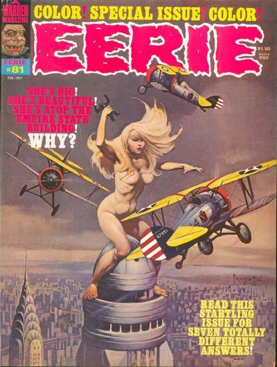 Cover for Eerie (Warren, 1966 series) #81