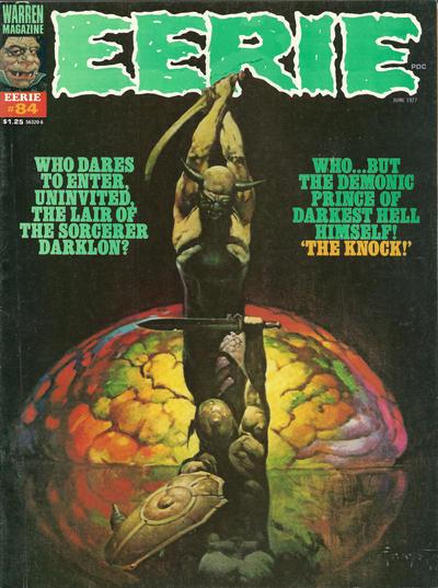 Cover for Eerie (Warren, 1966 series) #84