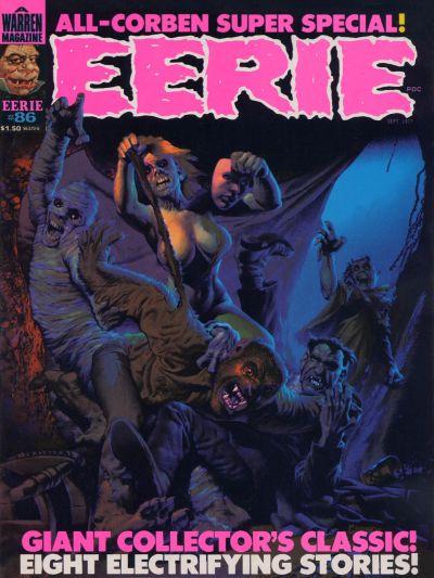 Cover for Eerie (Warren, 1966 series) #86
