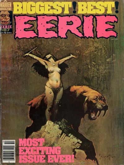 Cover for Eerie (Warren, 1966 series) #87