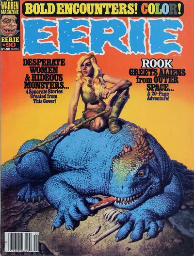 Cover for Eerie (Warren, 1966 series) #90