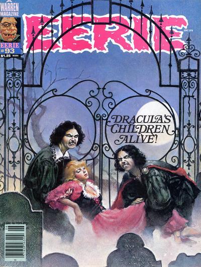 Cover for Eerie (Warren, 1966 series) #93
