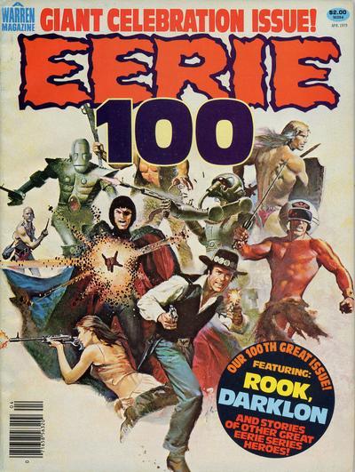 Cover for Eerie (Warren, 1966 series) #100