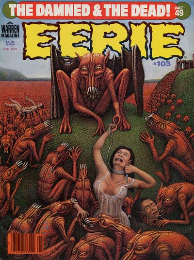 Cover for Eerie (Warren, 1966 series) #103