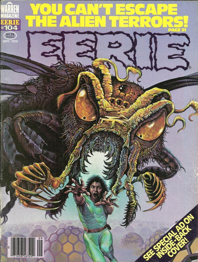 Cover for Eerie (Warren, 1966 series) #104