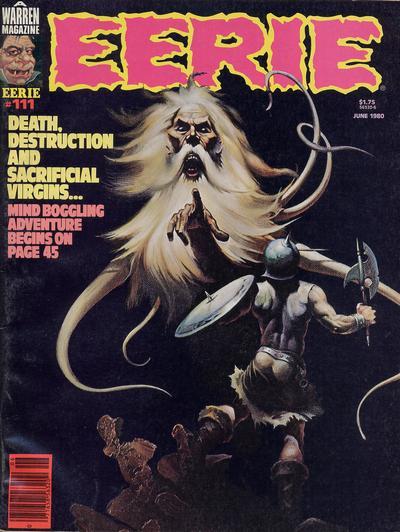 Cover for Eerie (Warren, 1966 series) #111