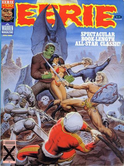 Cover for Eerie (Warren, 1966 series) #130