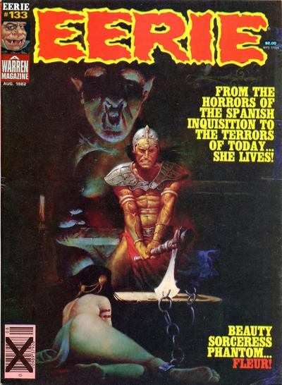 Cover for Eerie (Warren, 1966 series) #133