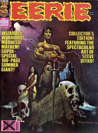 Cover for Eerie (Warren, 1966 series) #135