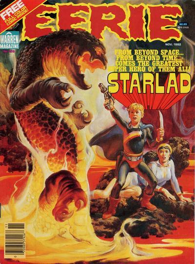Cover for Eerie (Warren, 1966 series) #136