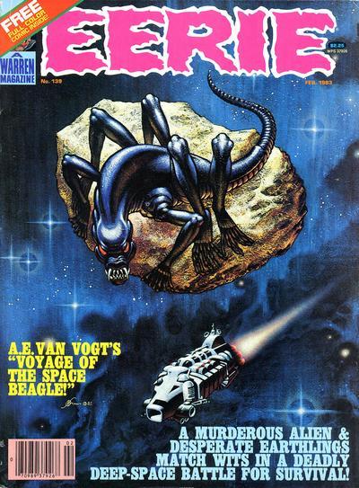 Cover for Eerie (Warren, 1966 series) #139
