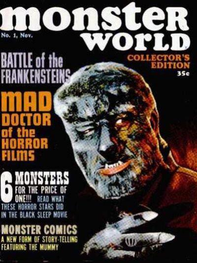 Cover for Monster World (Warren, 1964 series) #1
