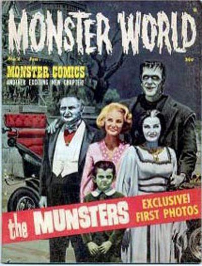 Cover for Monster World (Warren, 1964 series) #2