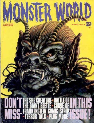 Cover for Monster World (Warren, 1964 series) #3