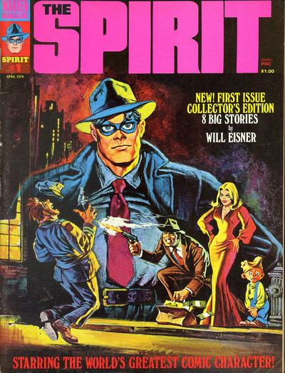 Cover for The Spirit (Warren, 1974 series) #1