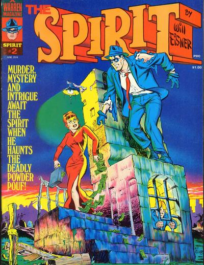 Cover for The Spirit (Warren, 1974 series) #2