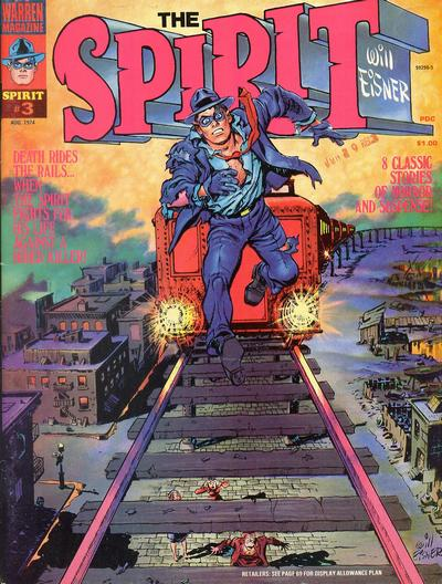 Cover for The Spirit (Warren, 1974 series) #3