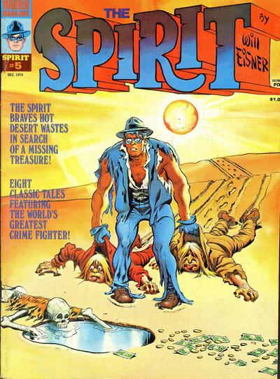 Cover for The Spirit (Warren, 1974 series) #5