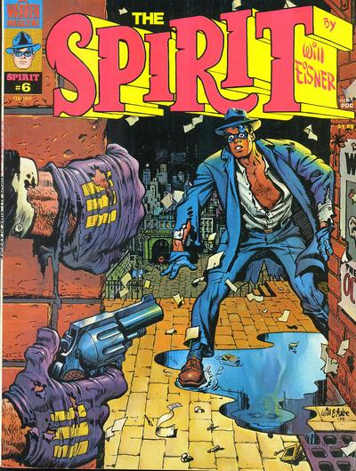 Cover for The Spirit (Warren, 1974 series) #6