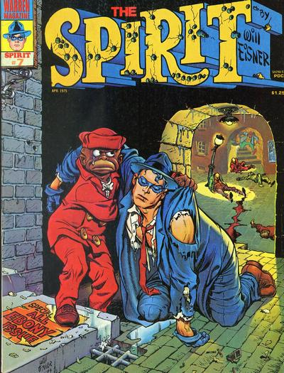 Cover for The Spirit (Warren, 1974 series) #7