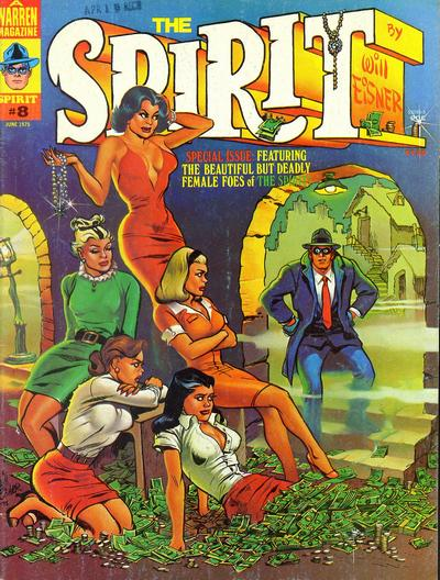 Cover for The Spirit (Warren, 1974 series) #8