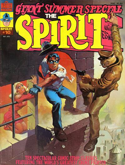 Cover for The Spirit (Warren, 1974 series) #10