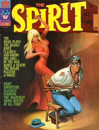 Cover for The Spirit (Warren, 1974 series) #11