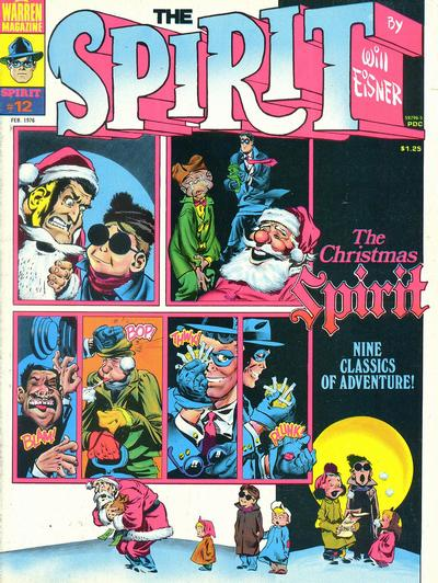 Cover for The Spirit (Warren, 1974 series) #12