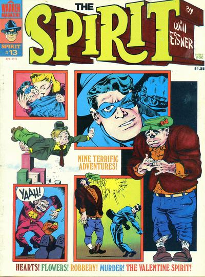 Cover for The Spirit (Warren, 1974 series) #13