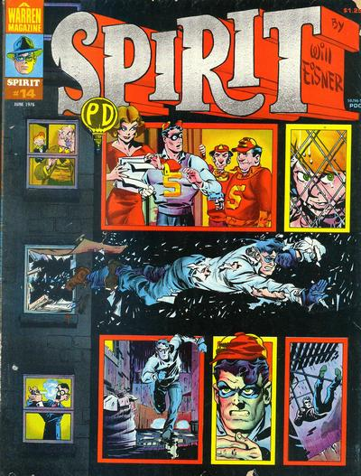 Cover for The Spirit (Warren, 1974 series) #14