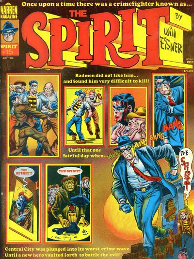 Cover for The Spirit (Warren, 1974 series) #15