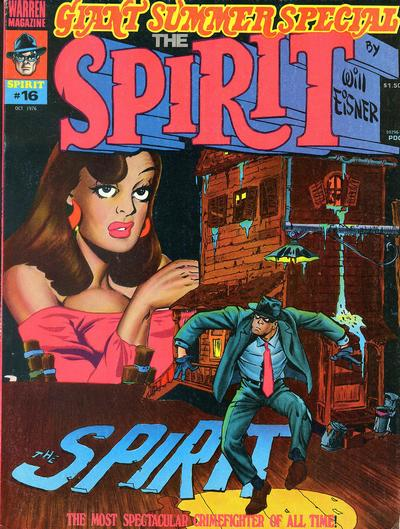Cover for The Spirit (Warren, 1974 series) #16
