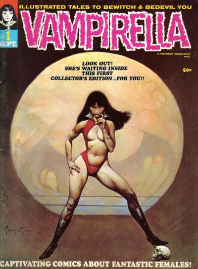 Cover for Vampirella (Warren, 1969 series) #1